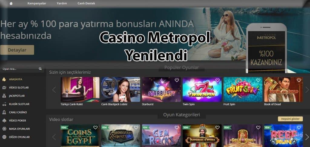 Casino Metropol Giris Adresi